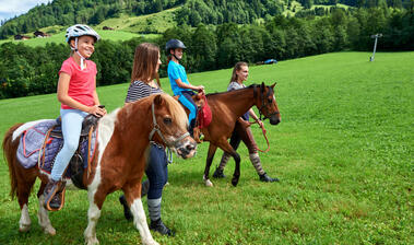 Horse-riding at the Schrannenhof